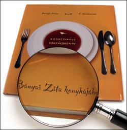 """""""Névre szóló borító szakácskönyvhöz"""""""