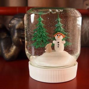 Hógömb készítése, adventi naptár, karácsony